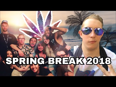 My California Spring Break EXPERIENCE.