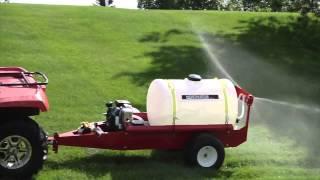 NorthStar Tow-Behind Sprayer - 55 Gallon, 7 GPM, 160cc Honda GC160 Engine