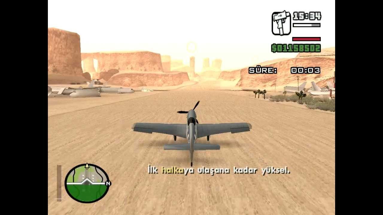 gta san andreas g u00f6rev pilot kursu  4