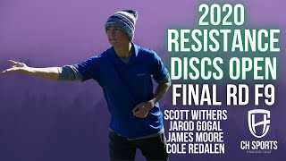 2020 Resistance Discs Open | Final Rd B9 | Withers, Gogal, Moore, Redalen