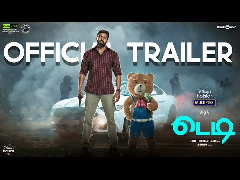 Teddy   Official Trailer Tamil   Shakti Soundar Rajan, Arya & Sayyeshaa   Streaming From Mar 12