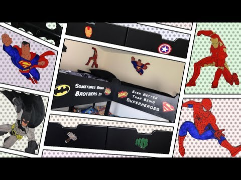Super Hero Quad Bunk Beds - From Basic IKEA Bunk Bed