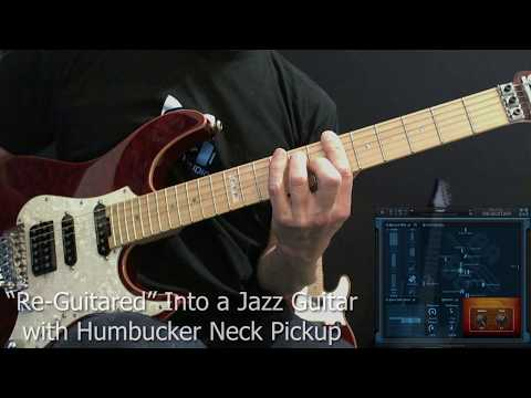 George Benson & Kenny Burrell Hollow Body Jazz Guitar Tone, using the Re-Guitar plug-in