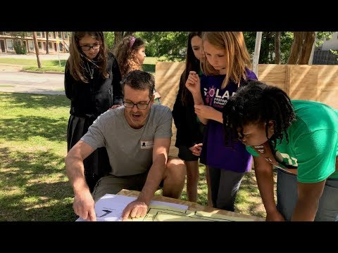 Solar Preparatory School For Girls Help Build Little Free Libraries