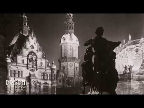 Visit Dresden ▶ City of Baroque before Bombing 1945 (Part 2)