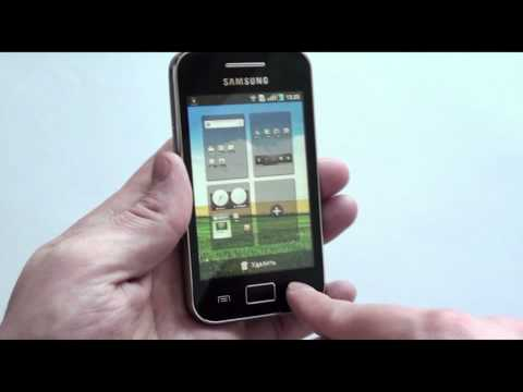 Обзор телефона Samsung S5830 Galaxy Ace от Video-shoper.ru