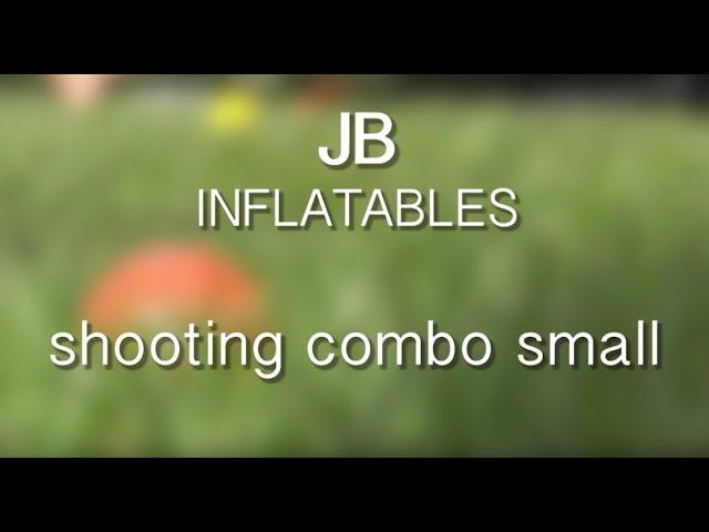 JB Inflatables - Springkussen Shooting Combo Small