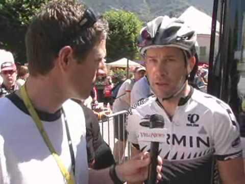 Julian Dean Stage 18 - 2008 Tour de France
