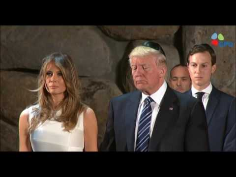 Visit of President Donald J. Trump to Yad Vashem - May 23, 2017