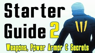 Fallout 4: Beginners Guide: Part 2 (Best Weapons, Power Armour & Secrets)