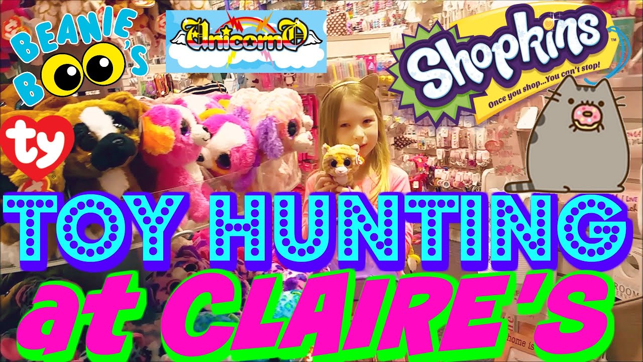Toy Hunting At Claire S Pusheen Surprise Toys Blind Box