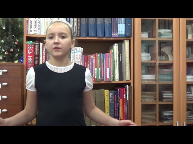 Изображение предпросмотра прочтения – ВикторияКомисарова читает отрывок изпроизведения «Бабочка» А.А.Фета