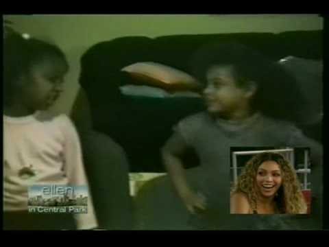 Little Beyoncé in the ELLEN DEGENERES SHOW