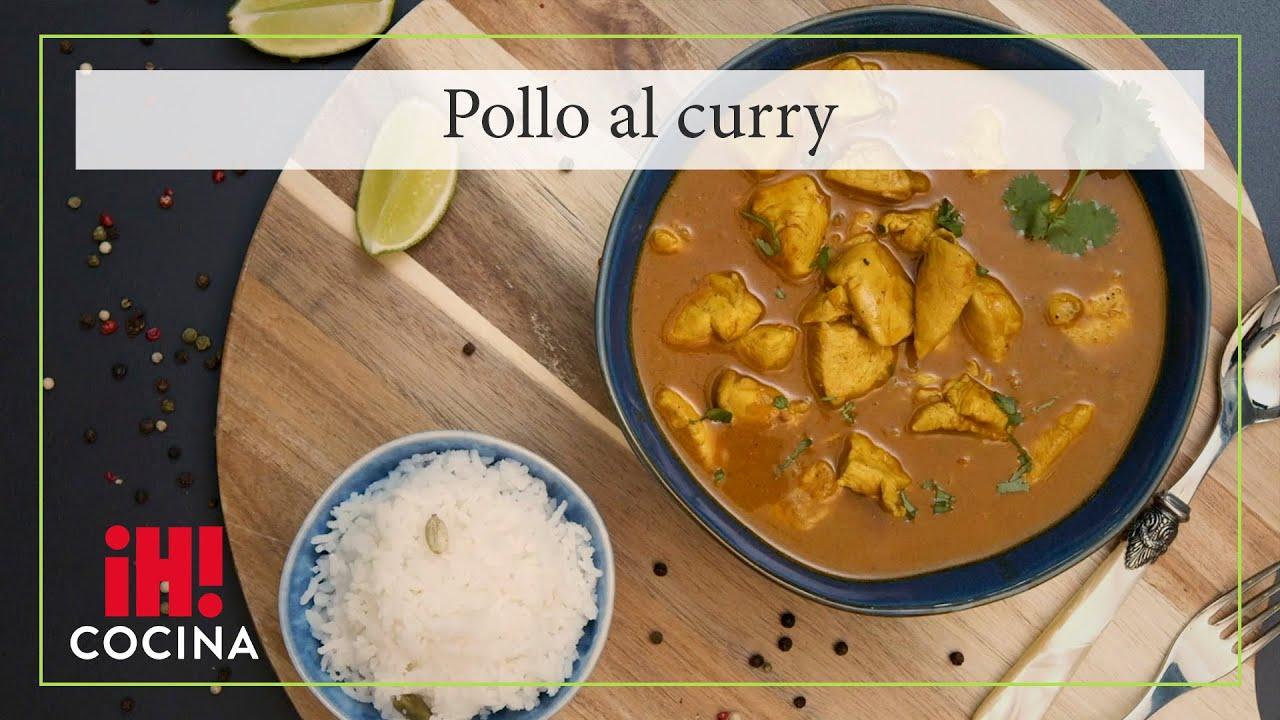 Este es el pollo al curry más fácil y rico que hayas probado