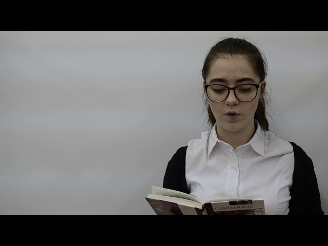 Изображение предпросмотра прочтения – ДаринаБочарова читает произведение «Душа и имя» М.И.Цветаевой
