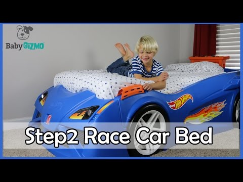 HOT WHEELS Step2 Toddler to Twin Race Car Bed Review
