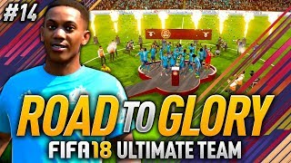 FIFA 18 ROAD TO GLORY #14 - THE BEST PLAYER ON FIFA 18! 🔥