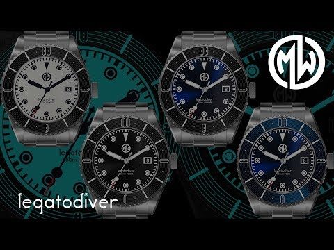 Microbrand Watches : MW Legatodiver, The first dive watch guitar inspired | Support us !