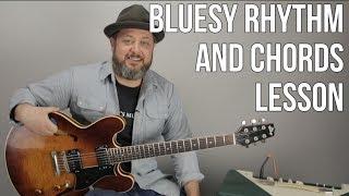 Baixar Blues Rock Rhythm Guitar Lesson - Tasty Chords For Blues and Rock