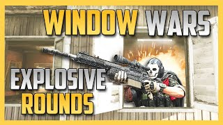 WINDOW WARS ... with explosive snipers