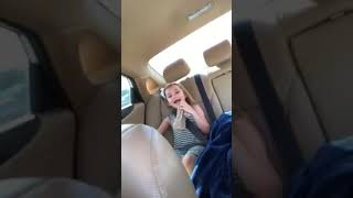 baby goes crazy with turbo