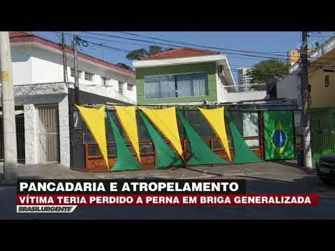 São Paulo: Grupo é atropelado durante briga em bar