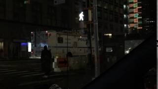 RARE CATCH OF THE NYPD MOBILE COMMAND CENTER PATROL BOROUGH BRONX UNIT DEPLOYING IN MANHATTAN.