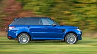 2017 Range Rover Sport SVR   All Terrain Acceleration Tests