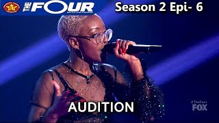 "Leah Jenea 17 year old sings ""Best Part""  UNIQUE VOICE AMAZING Audition The Four Season 2 Ep. 6 S2E6"