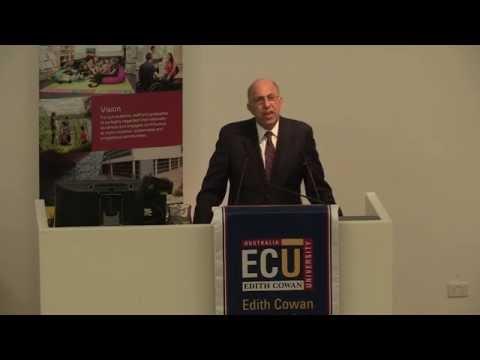Improving Quality of Life Through University-Community Engagement: Dr Ira Harkavy, ECU Oration