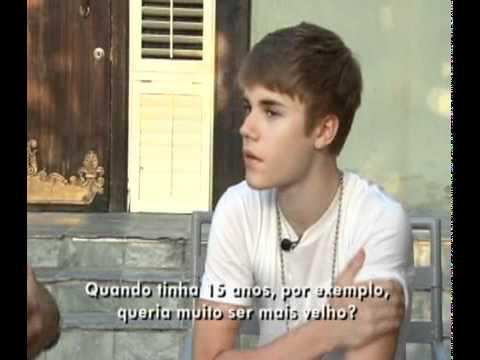 Justin Bieber Interview (Fantástico Tv Show Brazil 02/10/11)