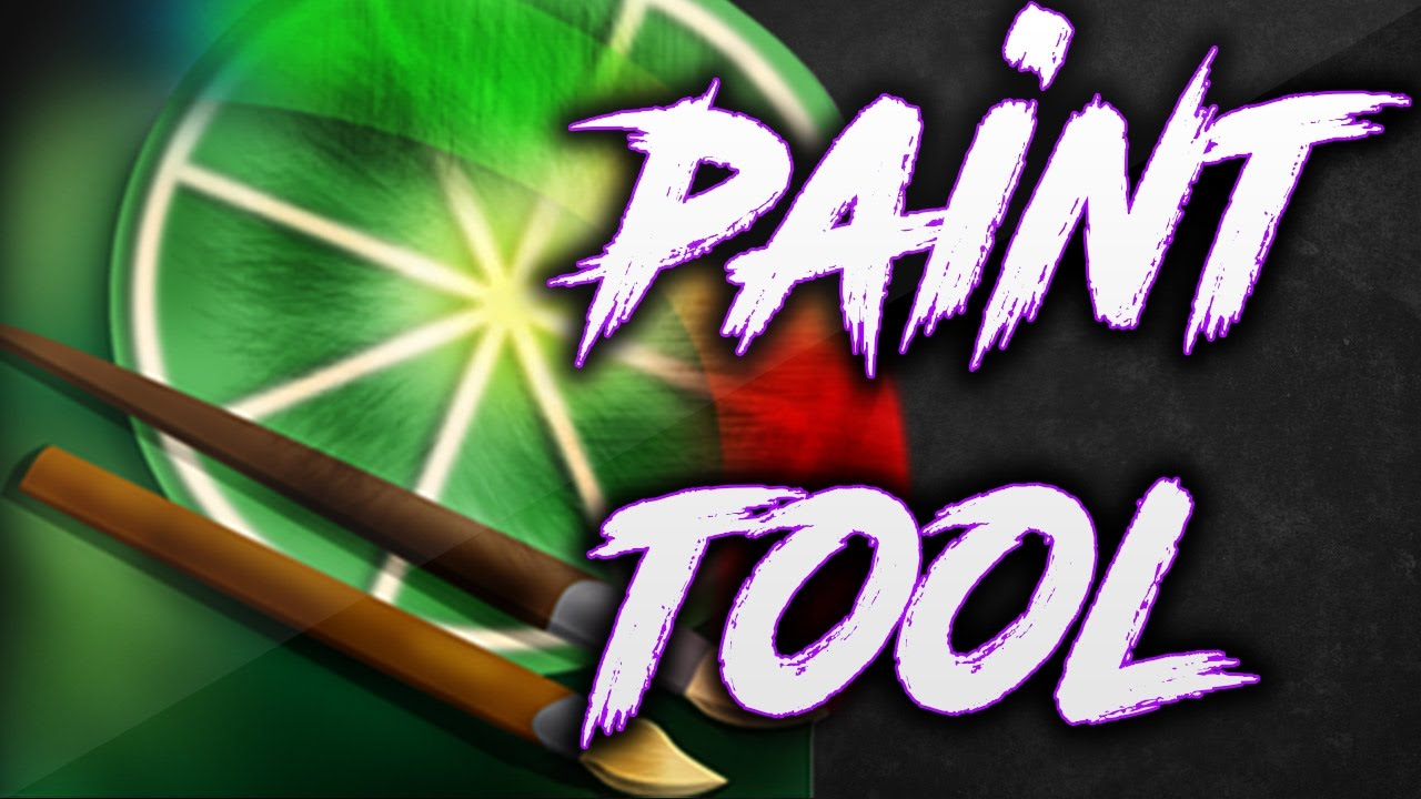 how to use paint tool