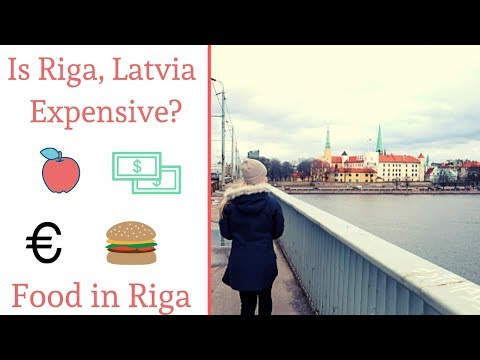 Is Riga Expensive? | Food and Groceries - Riga, Latvia Travel Vlog Guide