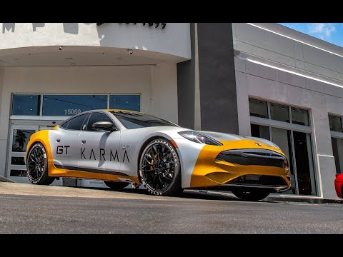 2020 Karma Revero GT Arrived To Miami GoldRush Rally 11 First Look & Firs Drive At Karma Miami
