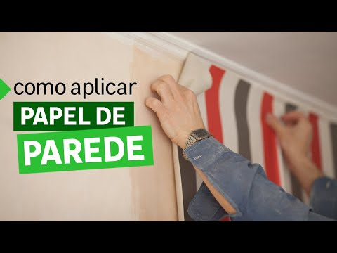Como aplicar papel de parede | Leroy Merlin