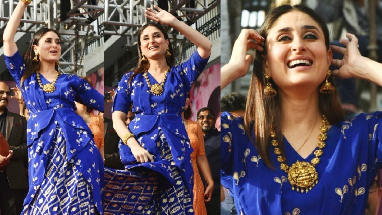 Veera Di Wedding.Kareena Kapoor Dance At Veere Di Wedding Promotion