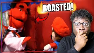 JEFFY ROASTS THE DEVIL!   SML Movie: The Dead Body Reaction!