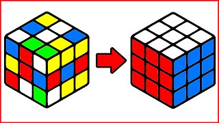 HOW TO SOLVE THE RUBIK'S CUBE WITHOUT ALGORITHMS | UNIVERSAL SOLUTION