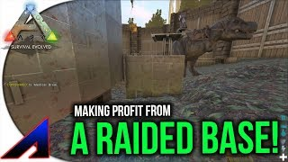 Making Profit From A Raided Base!   Solo Official PvP Servers ARK: Survival Evolved   Ep 62