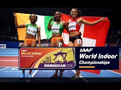 2018, World Champ Indoor - 60m - Women ALL