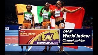 2018, World Champ Indoor - 60m - Women ALL