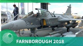 Farnborough Air Show 2018: Saab