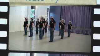 TAG ON - line dance - NEW SPIRIT OF COUNTRY DANCE
