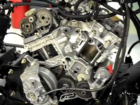 Inside Of The Rotax 998 Motor Running Youtube