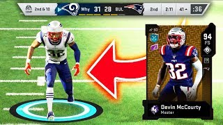 I SPENT 2 MILLION COINS ON THE MOST EXPENSIVE CARD IN MADDEN 20... Devin McCourty
