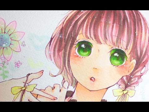 【オリジナル】コピックメイキング ★ Copic speed drawing