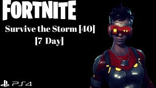 FORTNITE: Survive the Storm [Power Level 40, 7 Day] [Save The World]