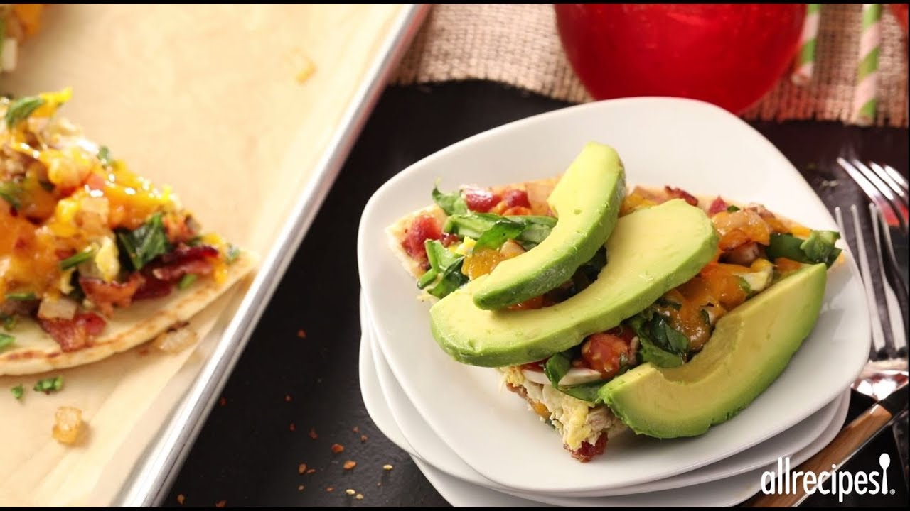 How to Make Pita Pizza | Breakfast Recipes | Allrecipes.com - YouTube