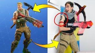 FORTNITE SKINS IN REAL LIFE - UPDATED - FORTNITE BATTLE ROYALE