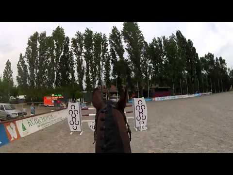 Show jumping with GoPro